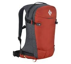 Black Diamond Dawn Patrol 32 Avalung Backpack - Deep Torch - Front View