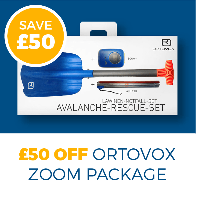 £50 OFF ORTOVOX ZOOM PACKAGE
