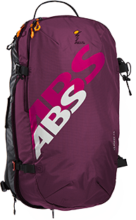 ABS s.Light 15L Zip-on Backpack Only - Canadian Violet