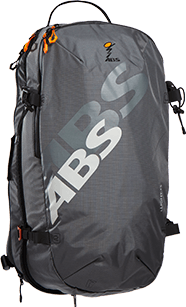 ABS s.Light 15L Zip-on Backpack Only - Rock Grey
