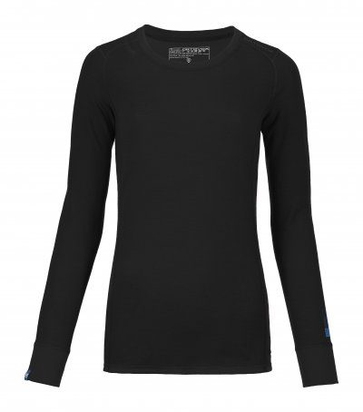 Ortovox Women's 210 Merino Supersoft Long Sleeve - Black Raven