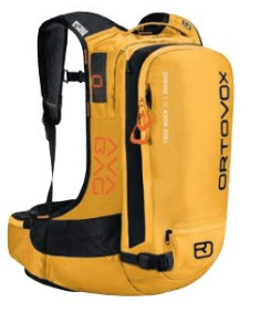 Ortovox Freerider 22 Avabag - Yellow Stone - Front View