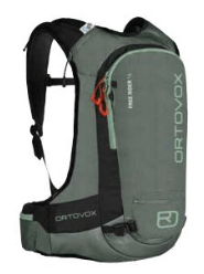 Ortovox Freerider 16 - Green Forest - Front View