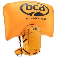BCA Float 32 - Orange - Front View - Inflated Airbag