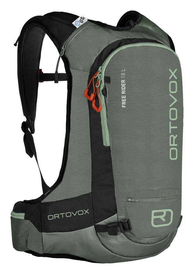 Ortovox Free Rider 18 L - Green Forest - Front View