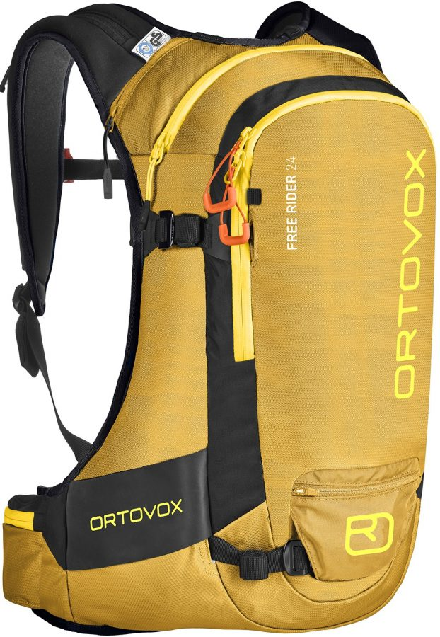 Ortovox Free Rider 24 - Yellow Stone - Front View