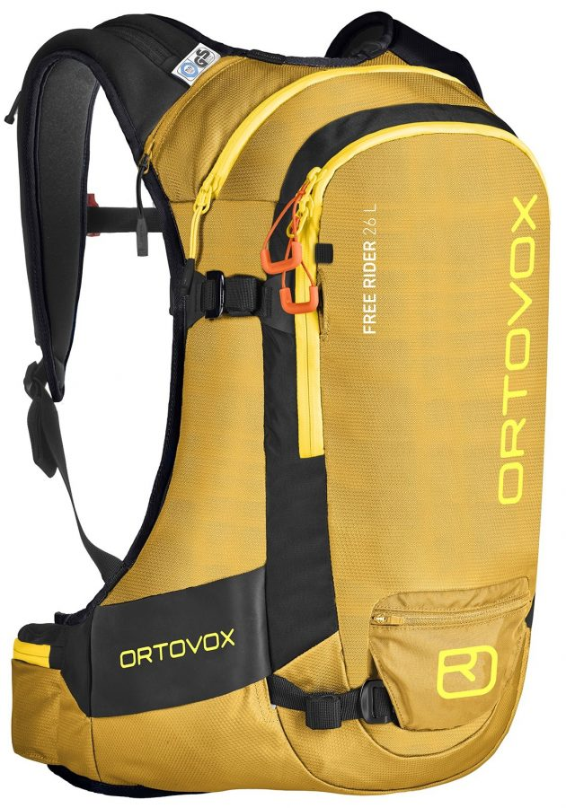 Ortovox Freerider 26 - Yellow Stone - Front View