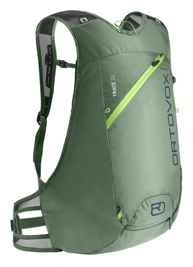 Ortovox Trace 20 - Green Isar - Front View