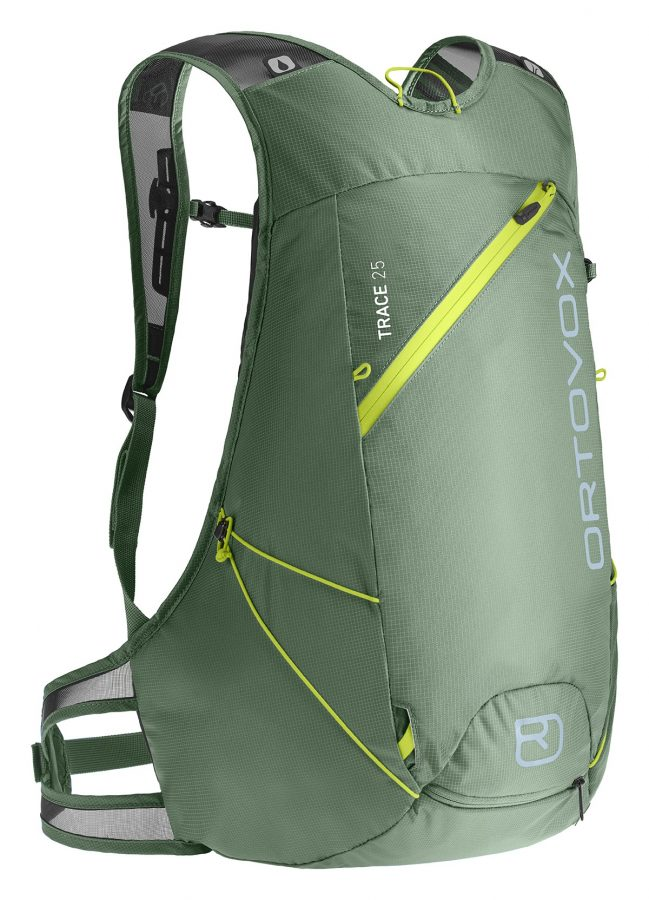 Ortovox Trace 25 - Green Isar - Front View