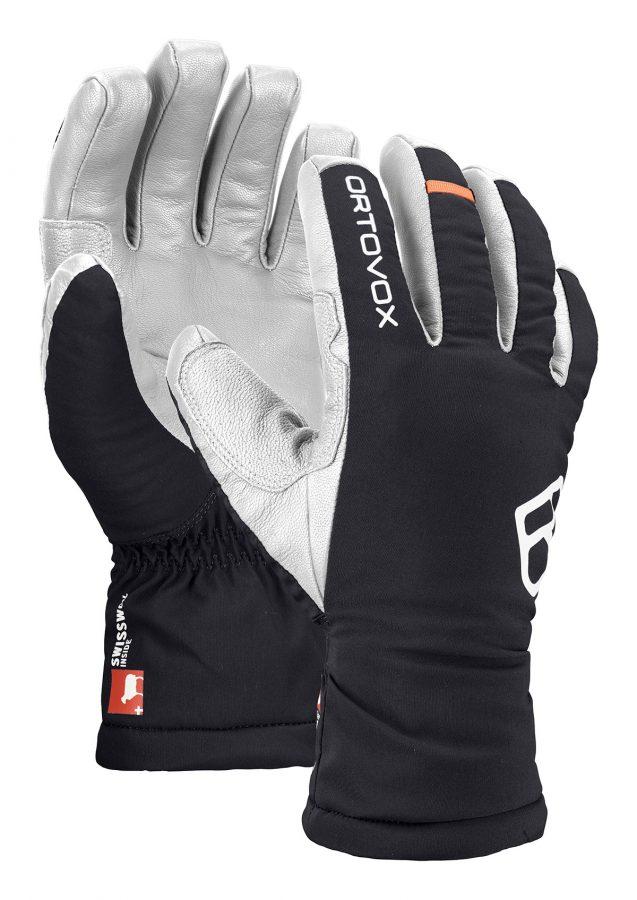 Ortovox Men's Swisswool Freeride Gloves - Black Raven