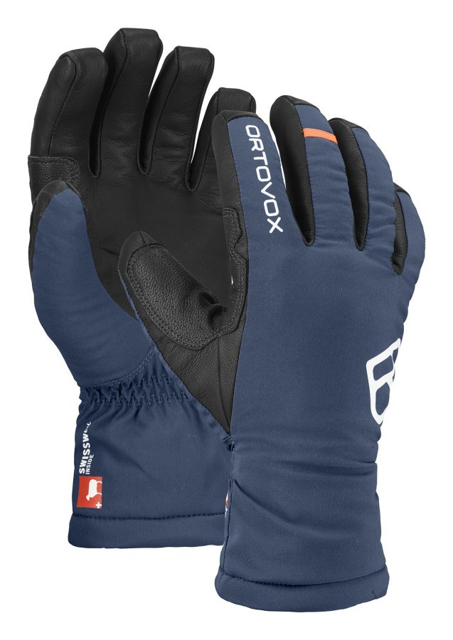 Ortovox Men's Swisswool Freeride Gloves - Night Blue