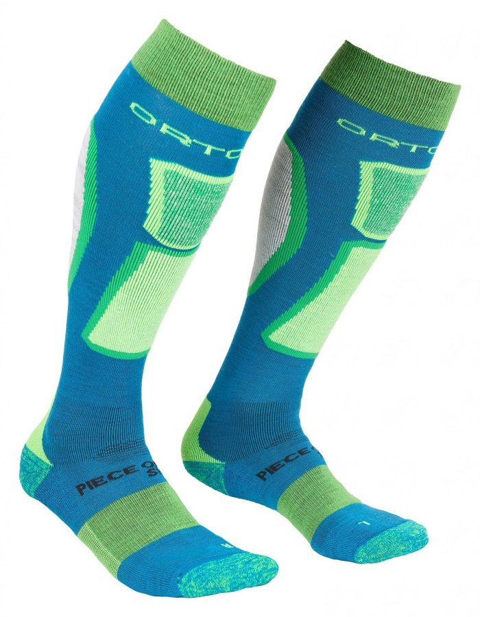 Ortovox Men's Merino Ski Rock n Wool Socks - Blue Sea