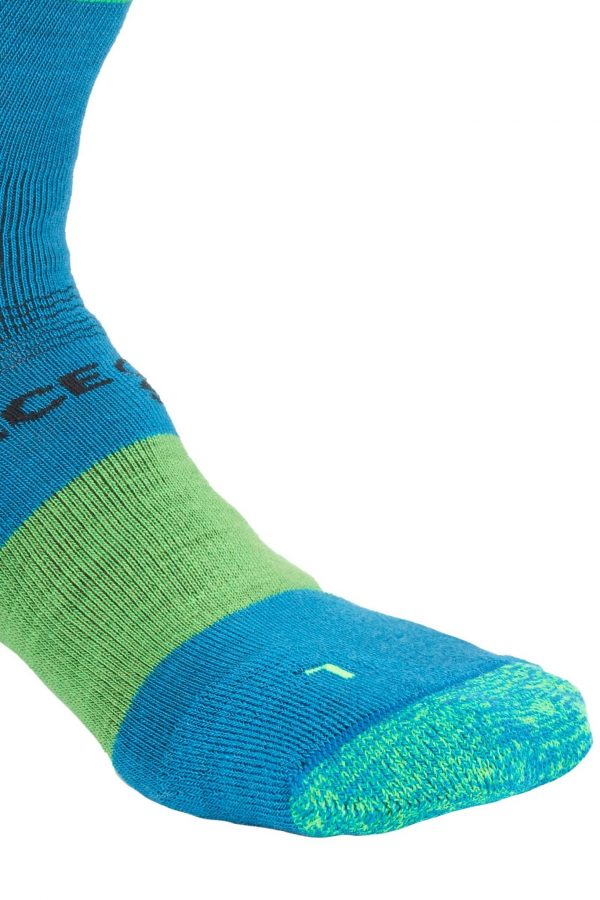 Ortovox Men's Merino Ski Rock n Wool Socks - Blue Sea