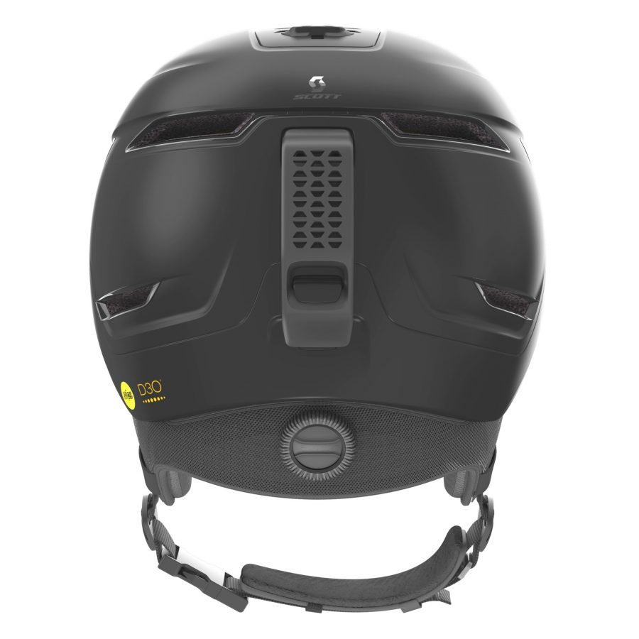 Scott Symbol 2 Plus D Helmet - Black - Back View