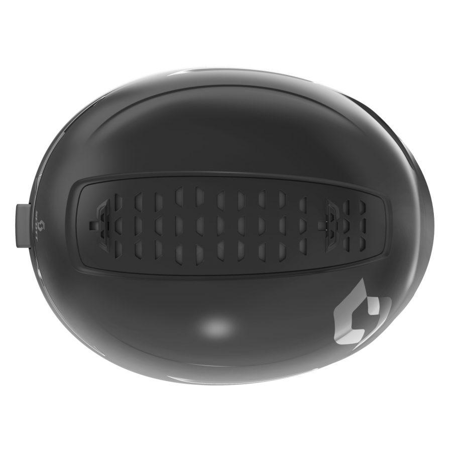 Scott Symbol 2 Plus D Helmet - Black - Top View
