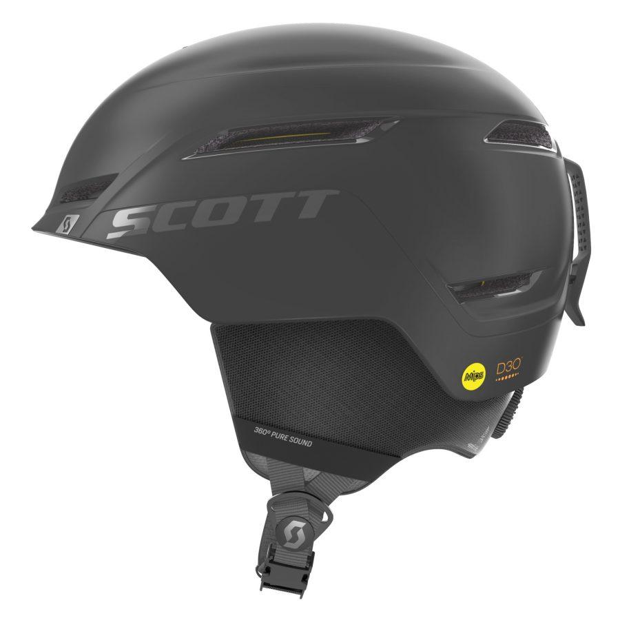 Scott Symbol 2 Plus D Helmet - Black - Left Side View