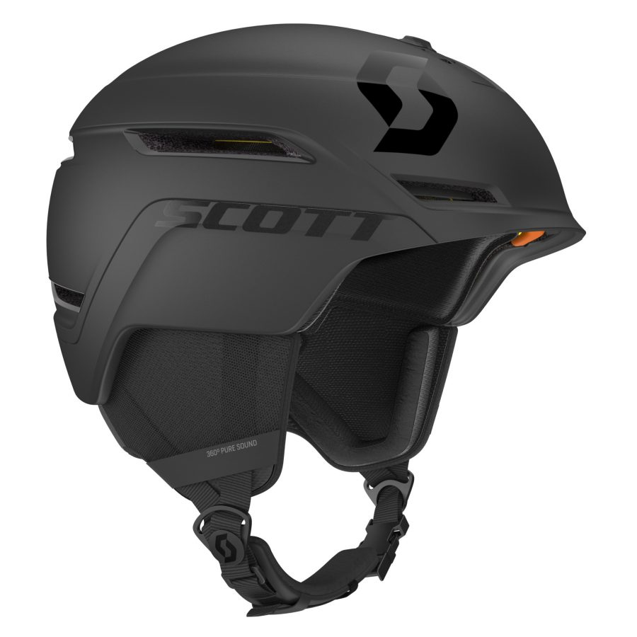Scott Symbol 2 Plus D Helmet - Black - Right Side View