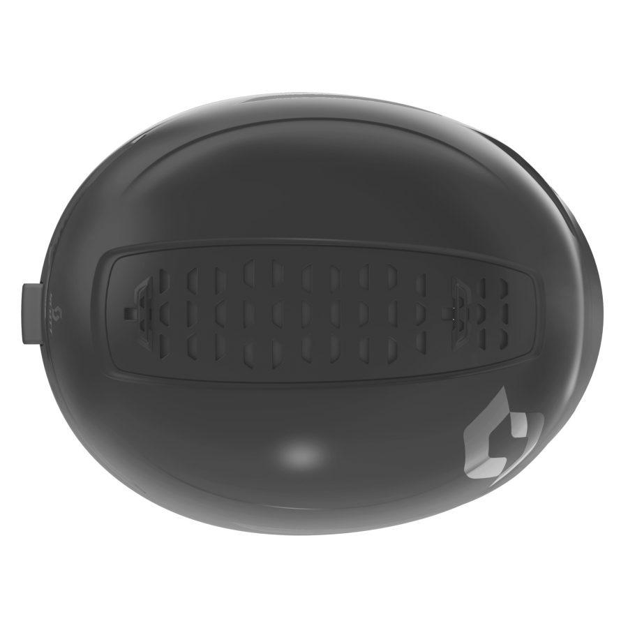 Scott Symbol 2 Plus Helmet - Black - Top View