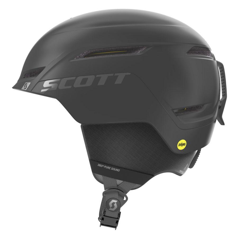 Scott Symbol 2 Plus Helmet - Black - Left Side View