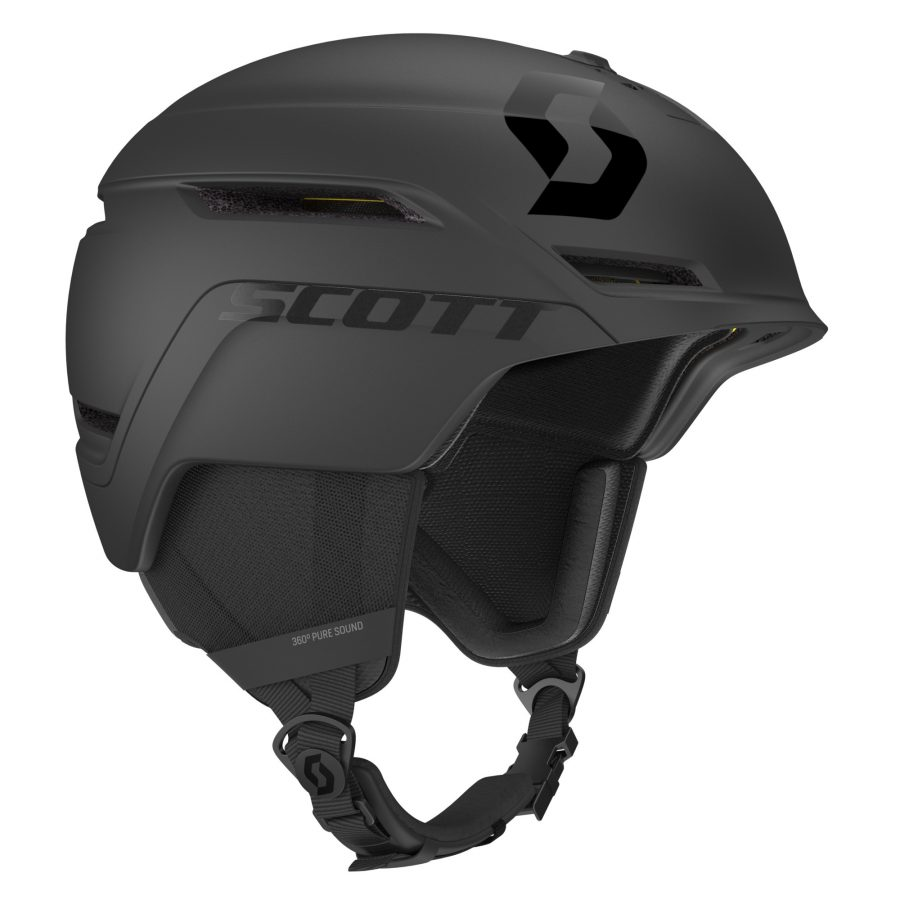 Scott Symbol 2 Plus Helmet - Black - Right Side View
