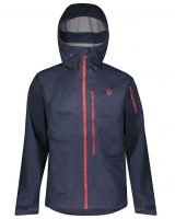 Scott Explorair 3L Men's Jacket - Blue Nights - Front View