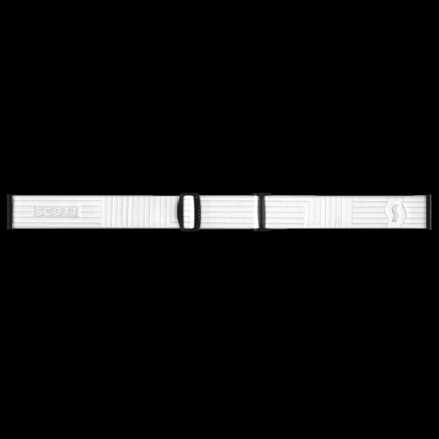 Scott Vapor Light Sensitive Goggle - White - Head Strap