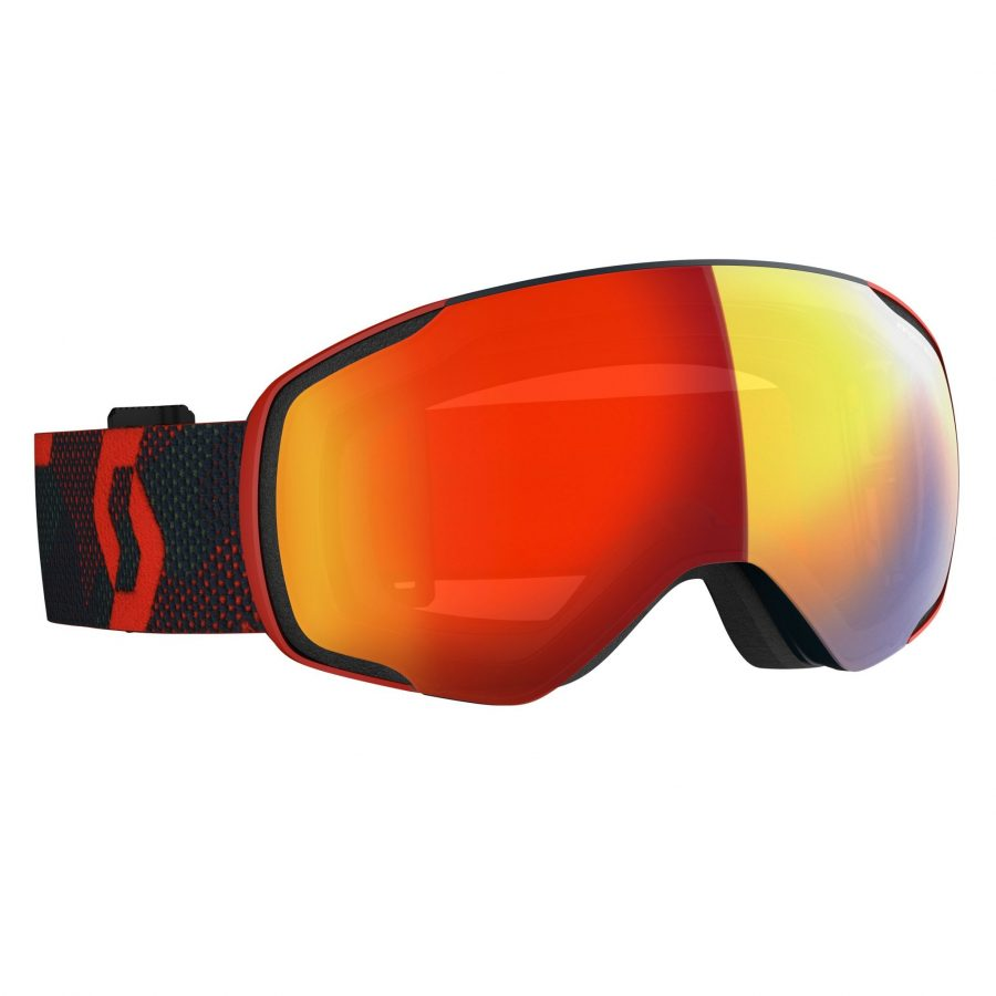 Scott Vapor Goggle - Red/Blue Nights Enhancer Red Chrome - Front View