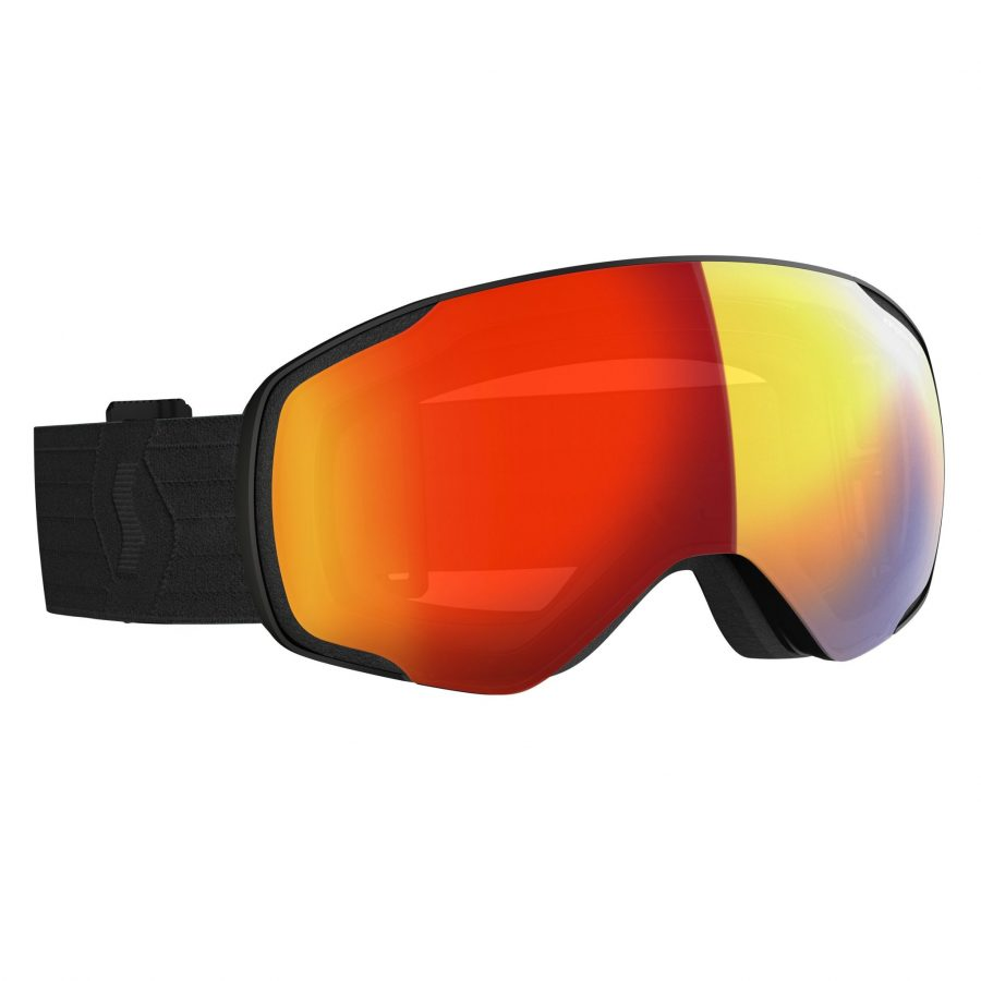 Scott Vapor Goggle - Black Enhancer Red Chrome - Front View