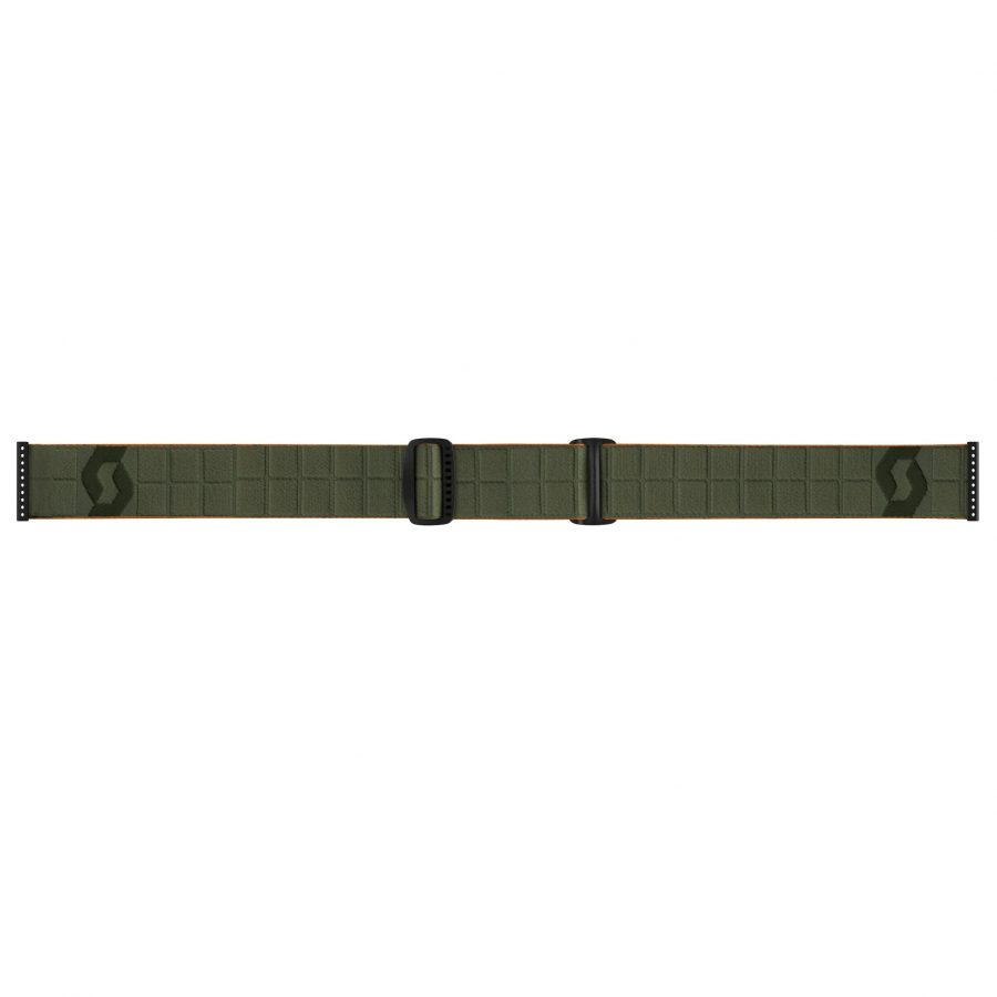 Scott Faze II Goggle - Khaki Green - Head Strap