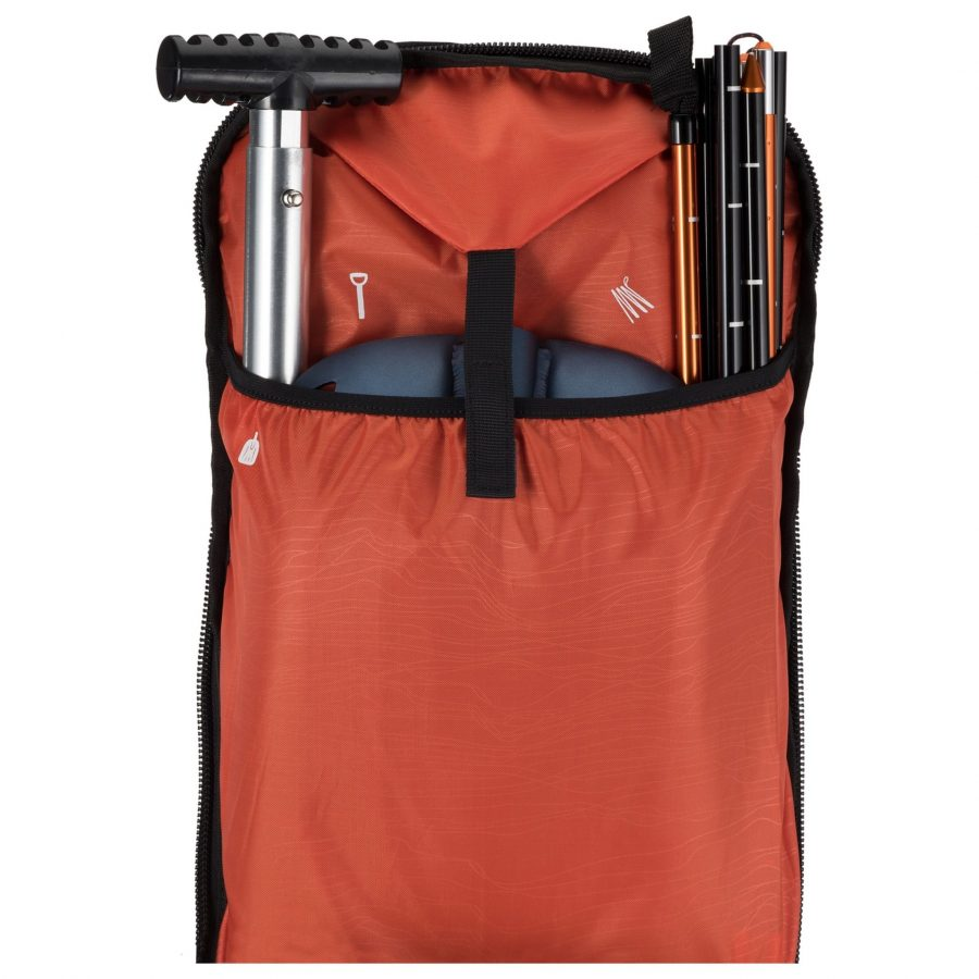 Scott Pack Patrol E1 40 Kit - Avalanche Rescue Tool Compartment