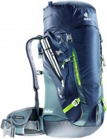 Deuter Guide 35+ - Navy-Granite - Front View