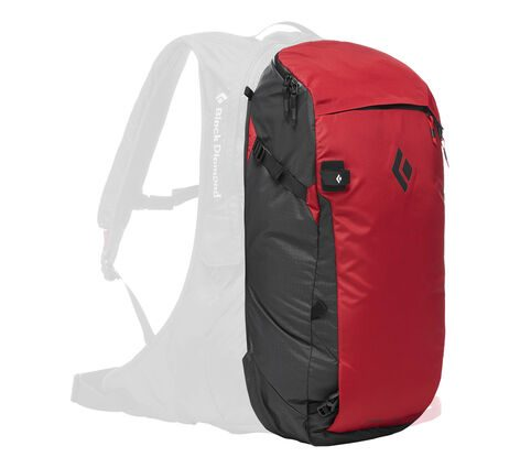 Black Diamond JetForce Pro Booster 35L - Red