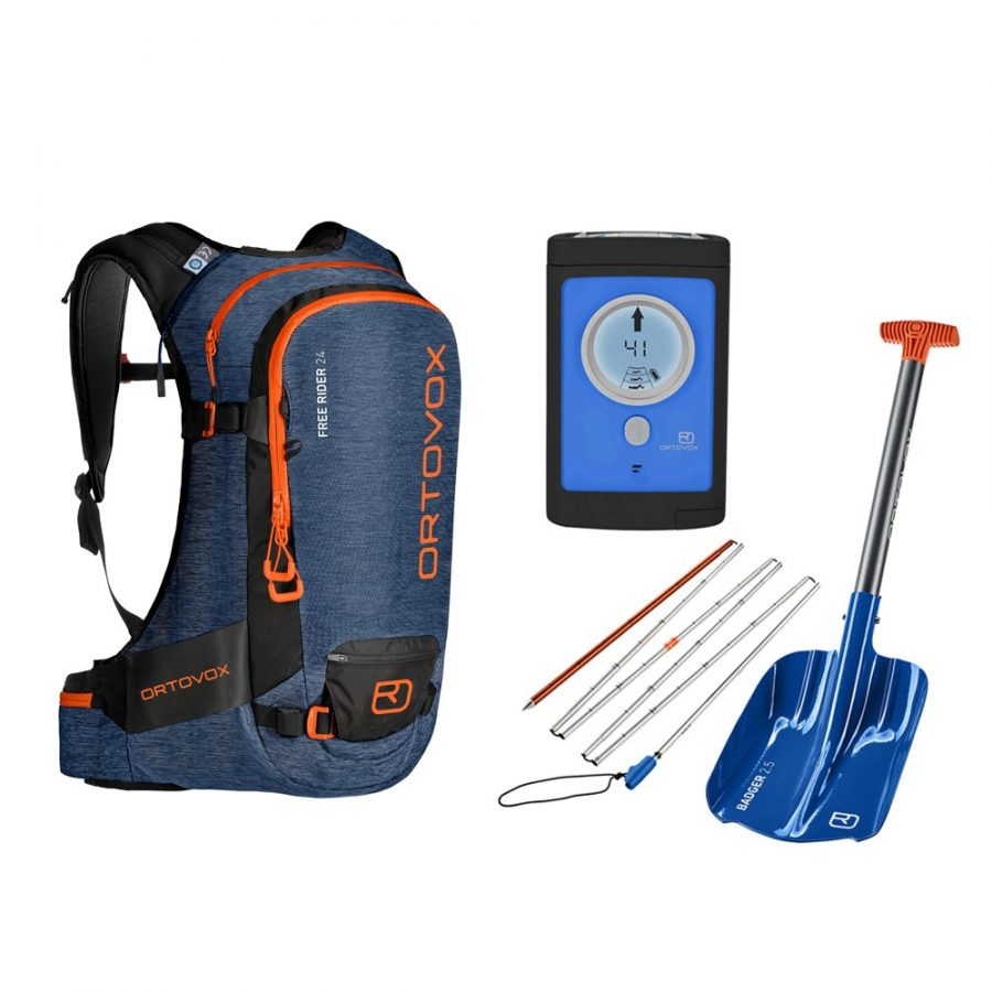 Ortovox Free rider 3+ Package