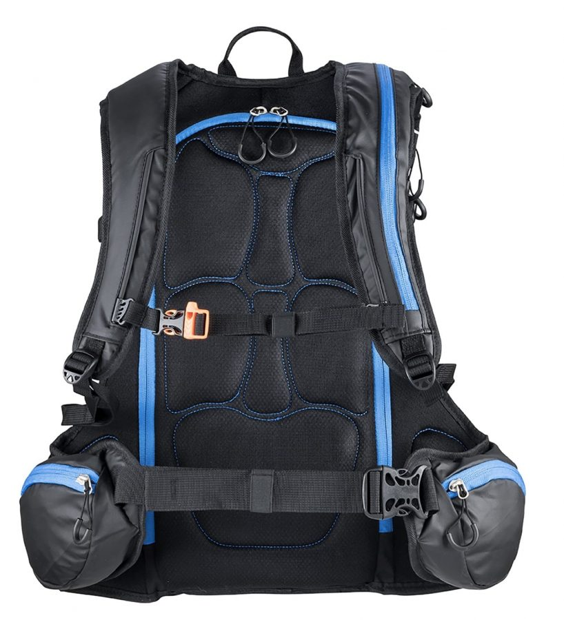 Terrawest Core 22 Litre Backpack (Recco Reflector Installed) - Back View