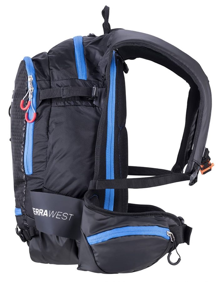 Terrawest Core 22 Litre Backpack (Recco Reflector Installed) - Side View