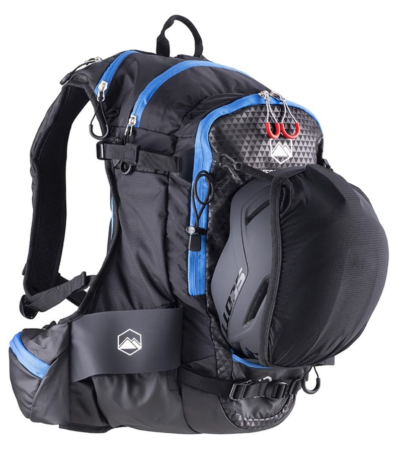 Terrawest Core 22 Litre Backpack (Recco Reflector Installed) - Helmet Mount