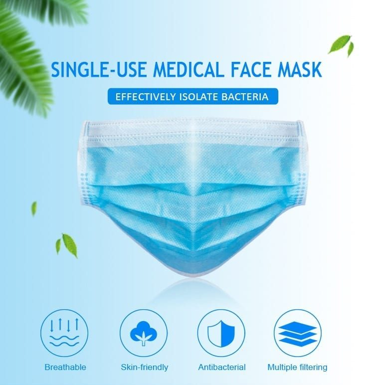 Terrawest Disposible Face Mask