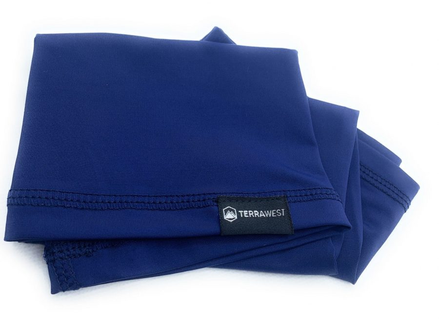 TerraWest Face Scarf - Navy