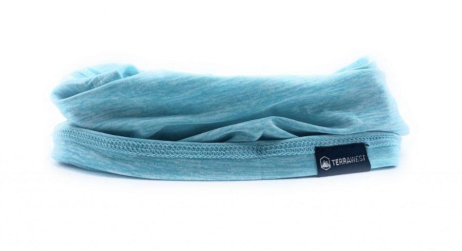 TerraWest Face Scarf - Ocean Blue