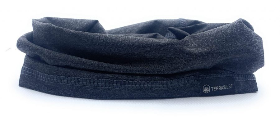 TerraWest Face Scarf - Dark Grey