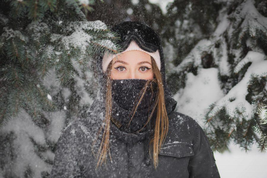 TerraWest Warm Winter Face Scarf
