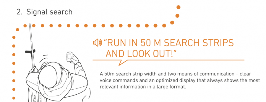 Ortovox Diract Voice - Signal Search