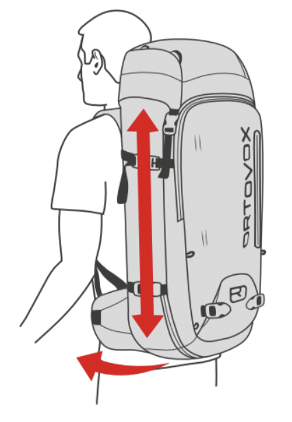 Regular Back System – 42 – 50 CM