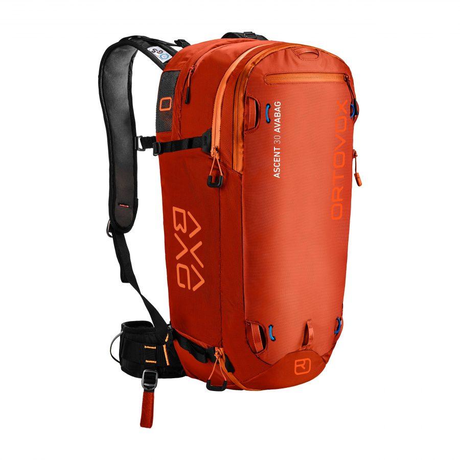 Ortovox Ascent 30 Avabag - Desert Orange