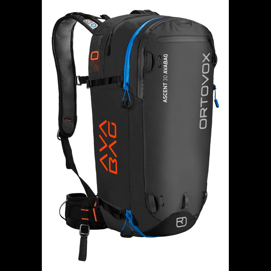 Ortovox Ascent 30 Avabag - Black Anthracite