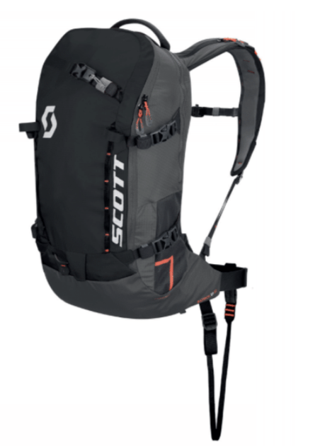 Scott Backcountry Patrol E1 22 Kit - Black/Grey