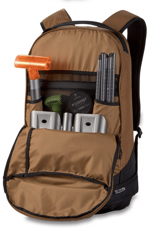 Dakine Heli Pro 24L - Avalanche Safety Compartment