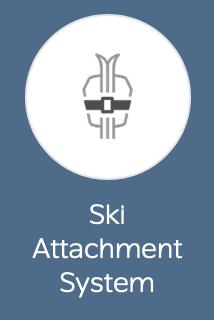 Ski Attachment System