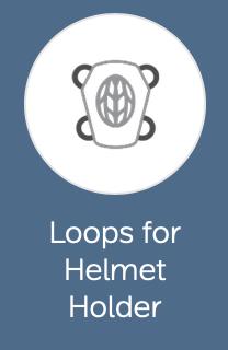 Loops for Helmet