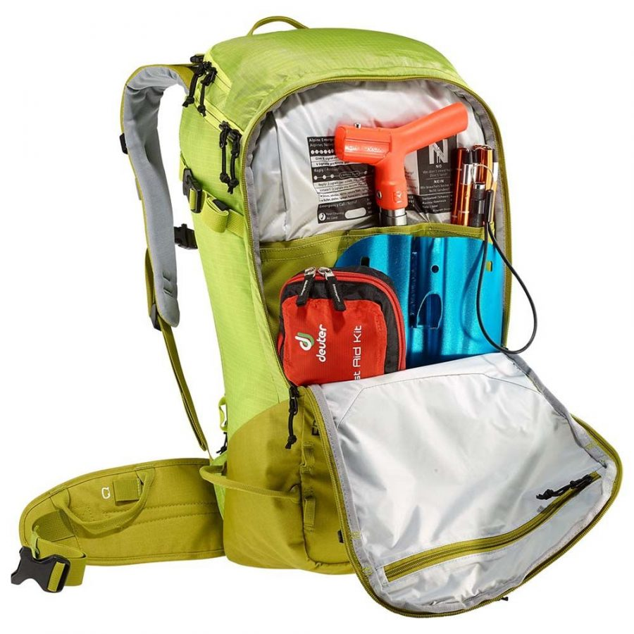 Deuter Freerider Pro 34+ - Avalanche Safety Compartment